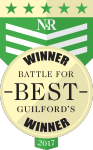 2017 Battle for Guilford's Best award