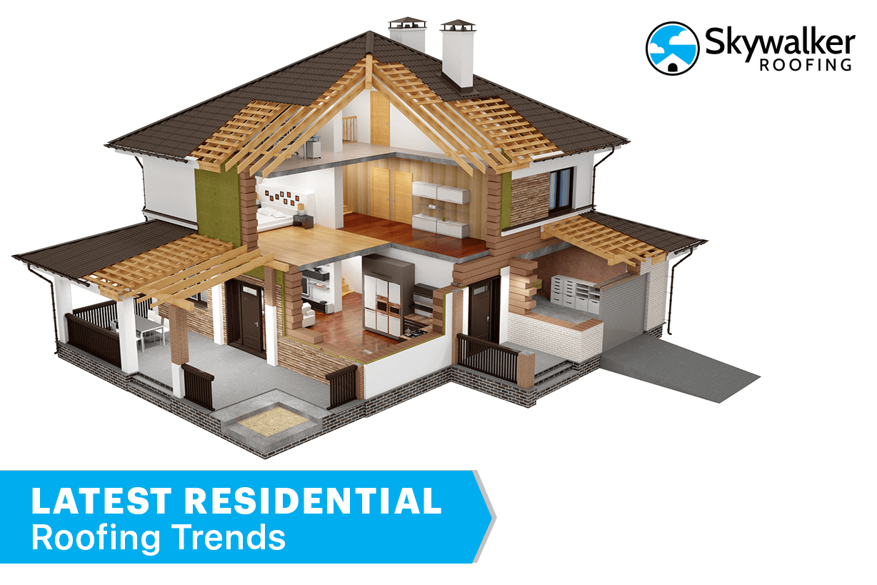 Latest market and Types of Residential Roofing Trends You Will See This Year