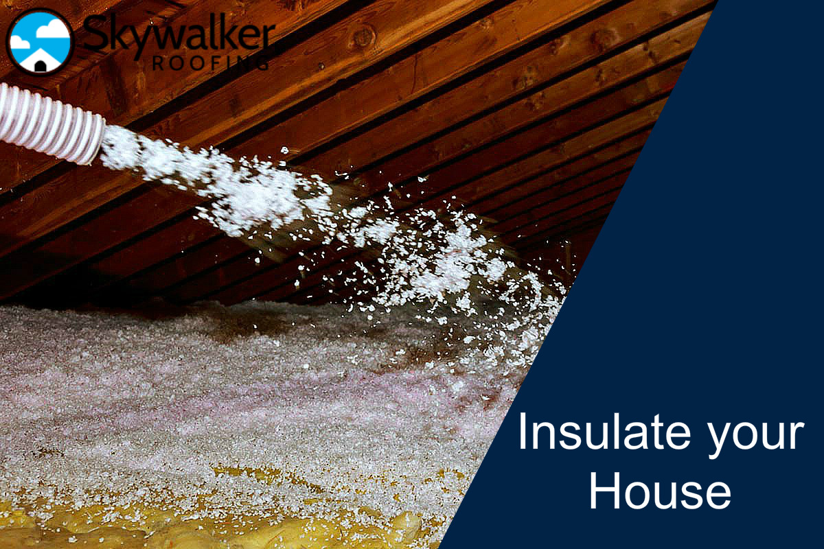 Blown insulation – the most efficient way to insulate your house