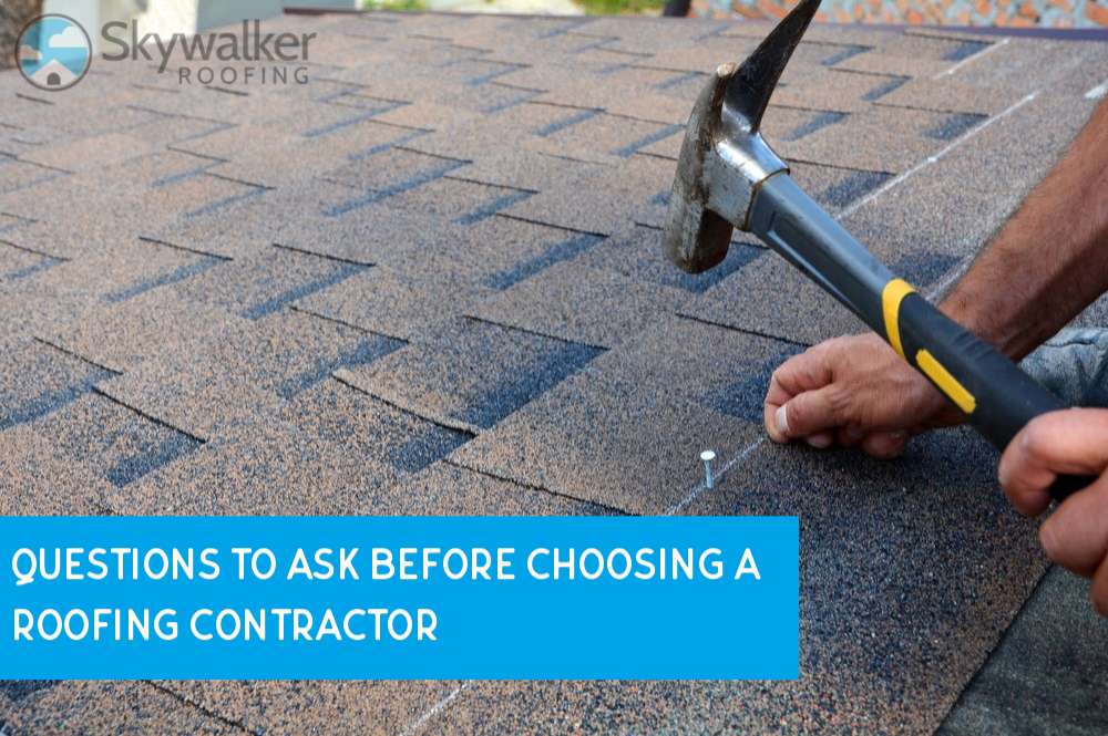 8 Questions to Ask Before Choosing A Roofing Contractor