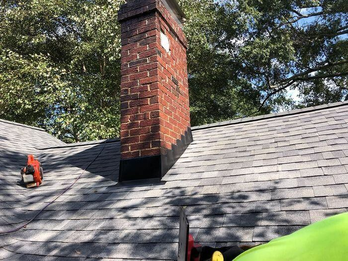 williamsburg gray roof install stokesdale nc