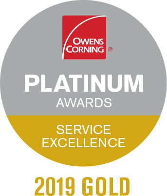 Owens Corning Platinum Award 2019