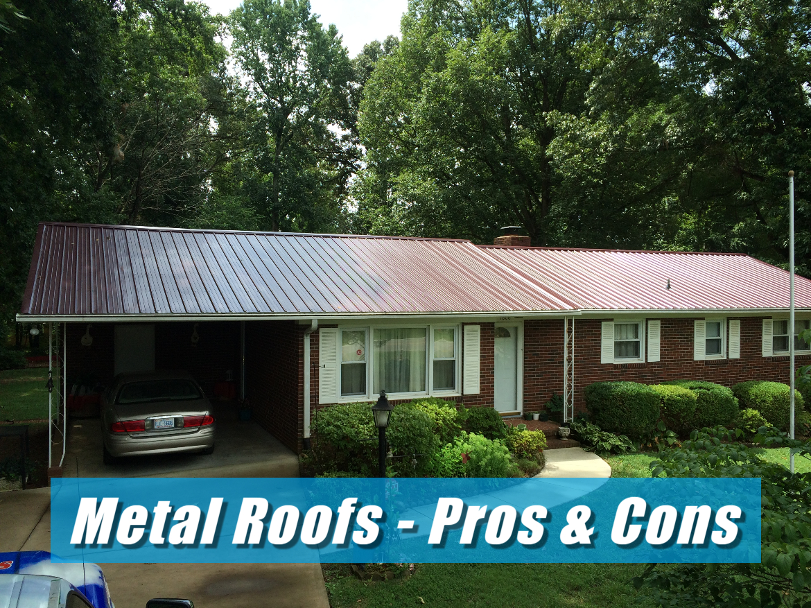 The pros & cons of choosing a home metal roof