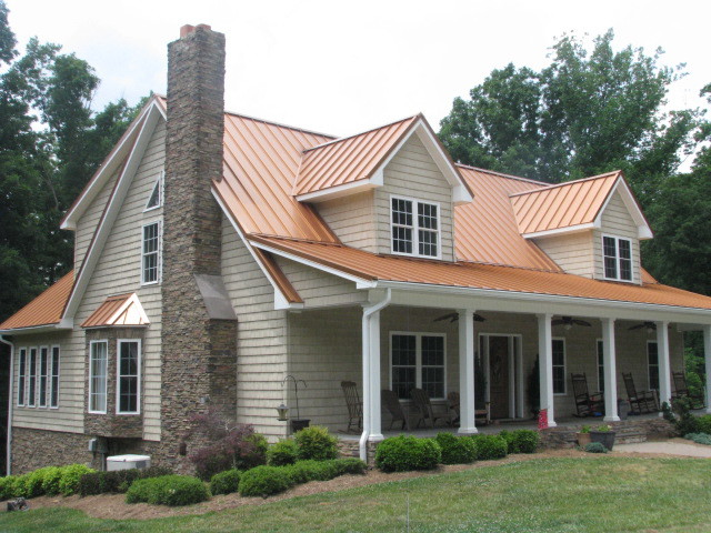 Roof Installation Standing Seam Metal Stoneville, NC