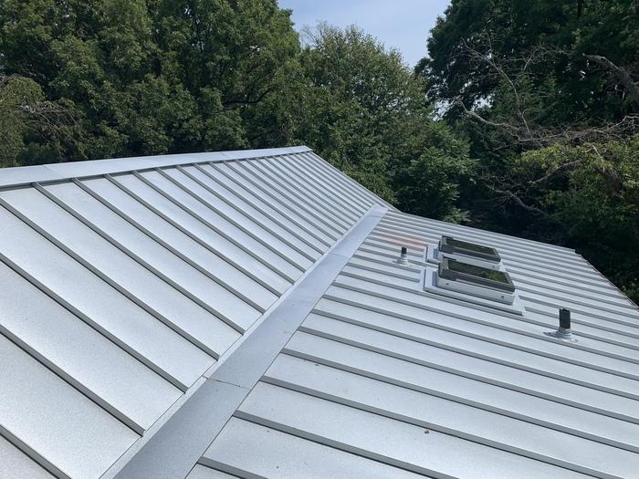 Standing Seam Galvalume Metal Roofing