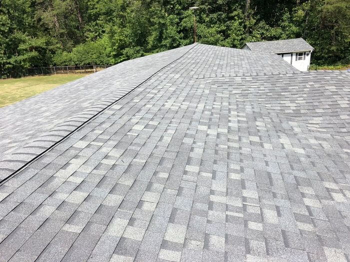 Oakridge Estate Gray Roof Install Stokesdale, NC