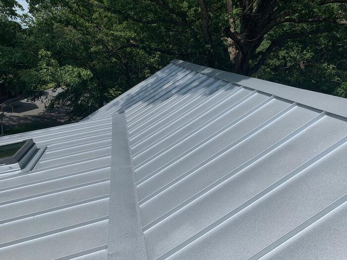Standing Seam Galvalume Metal Roof Installation Greensboro, NC