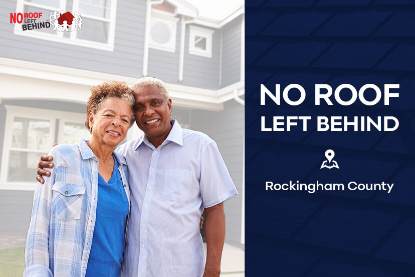 Skywalker roofing brings no roof left behind back home to rockingham county, nc