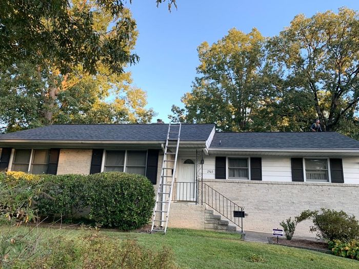 Onyx Black Roof Install Greensboro, NC