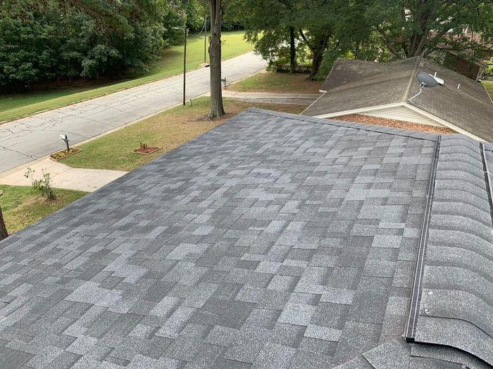 Onyx Black Roof Installation Greensboro, NC