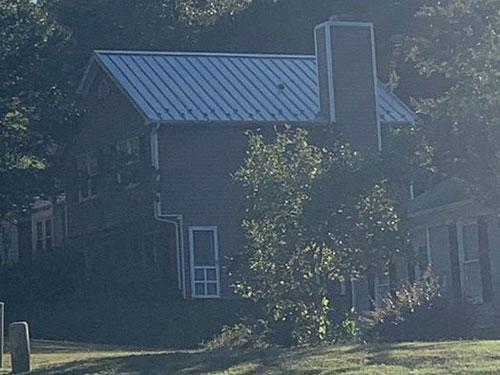 Standing Seam Dove Gray Roof Installation Greensboro, NC