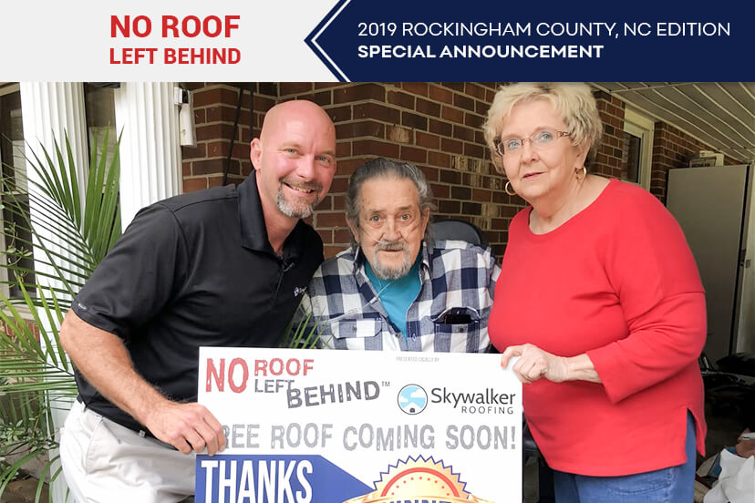 No roof left behind – 2019 rockingham county, nc edition special announcement