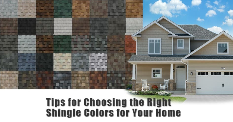 Tips for Choosing the Right Shingle Colors for Your Home
