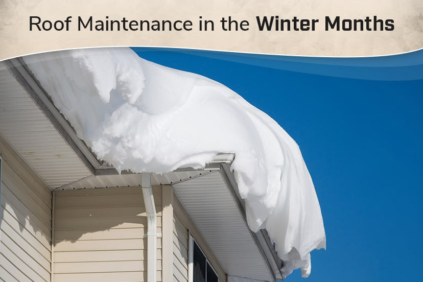 Roof maintenance in the winter months