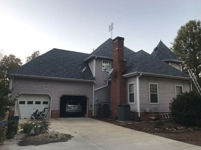 Slatestone Gray Shingle Roofing Greensboro NC