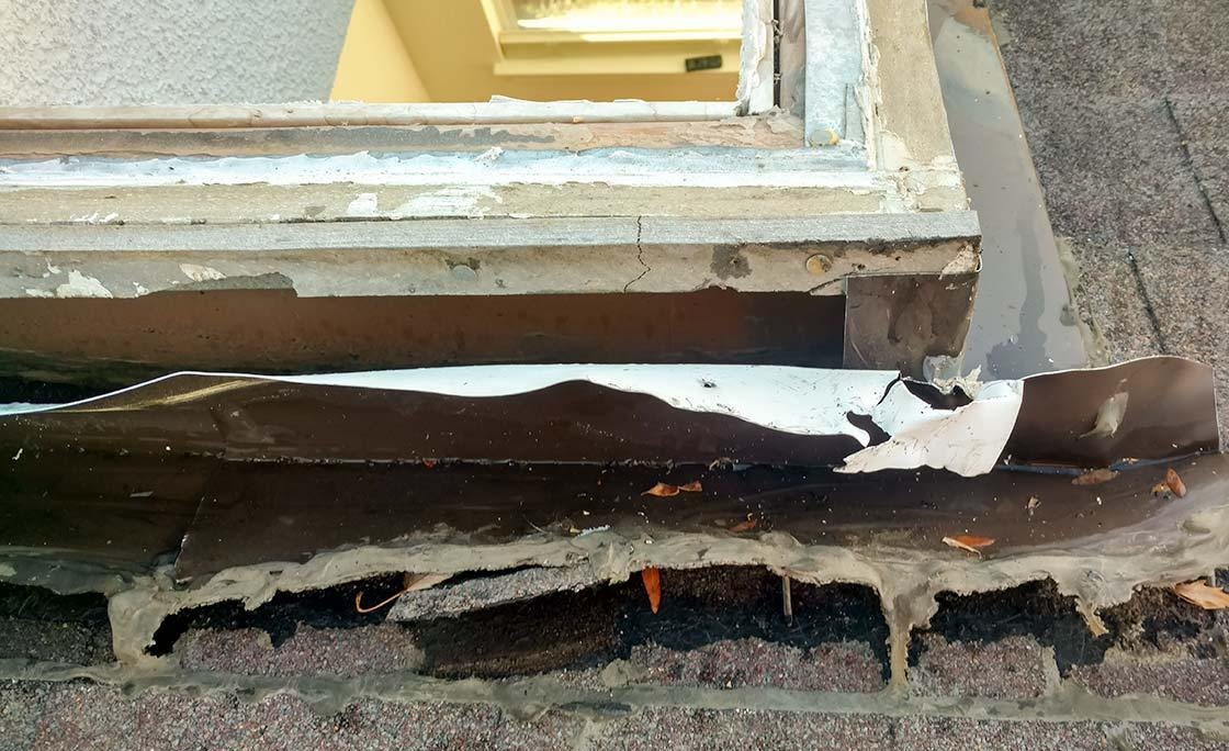 Installing in a Faulty Roof