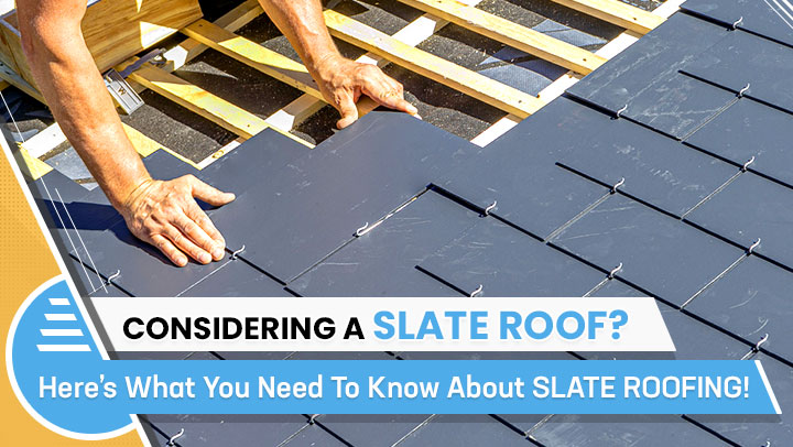 Considering a slate roof? here's what you need to know about slate roofing!