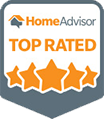 HomeAdvisor Top Rated Company